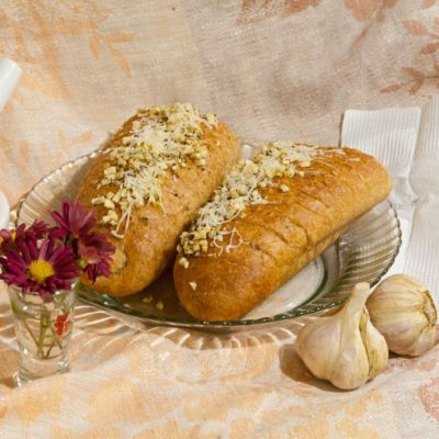 Oregano garlic bread