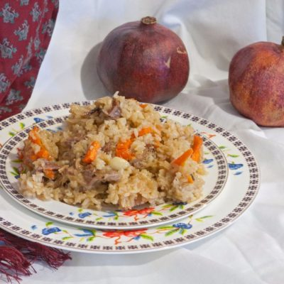 Easy homemade rice pilaf