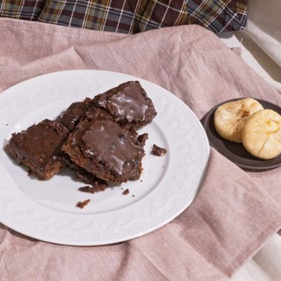 Easy chocolate butterscotch brownies from scratch